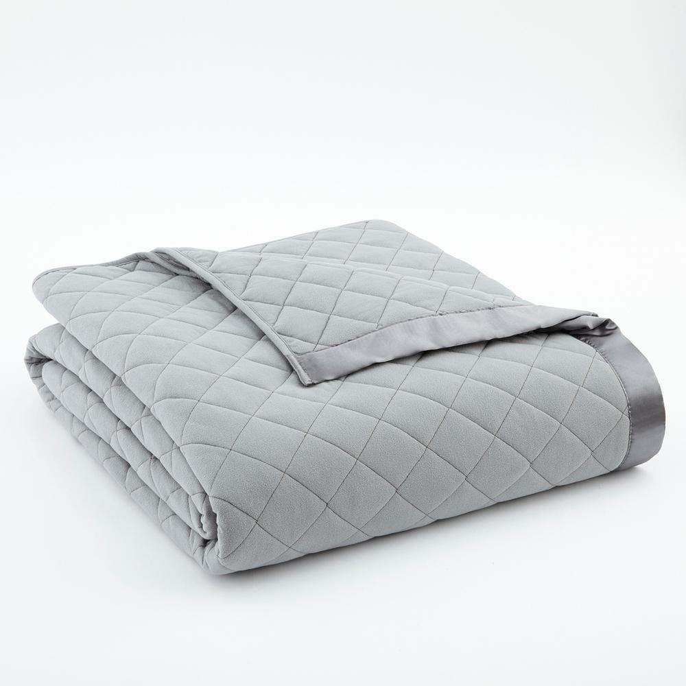 King Greystone Quilted Polyester Blanket