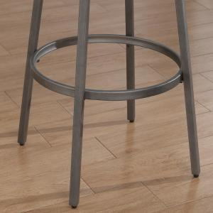 Superb American Woodcrafters Stockton 25 In Grey Backless Swivel Lamtechconsult Wood Chair Design Ideas Lamtechconsultcom