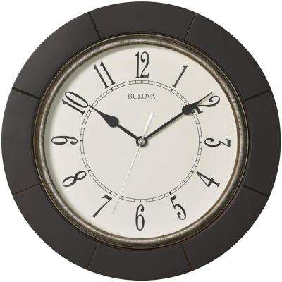 12 in. Expresso Wall Clock