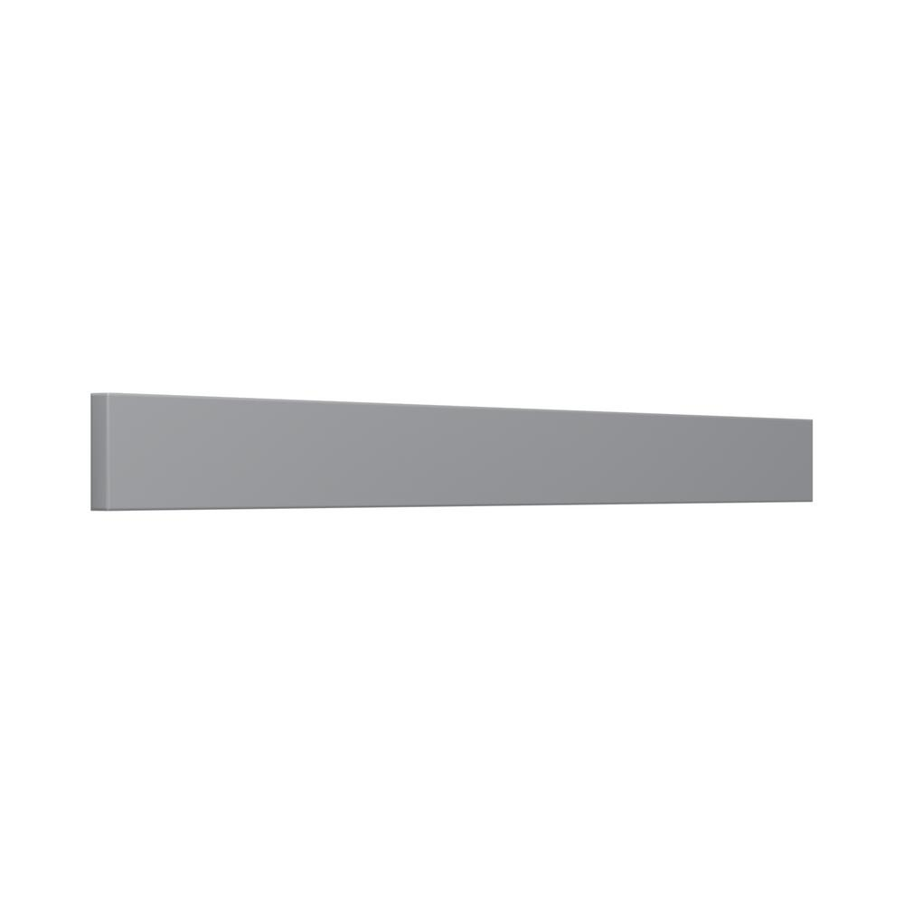 J COLLECTION 3 in. x 30 in. x 0.75 in. Cabinet filler strip in gray
