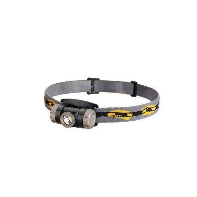 HL 280 Lumens AAA Battery Powered LED Headlamp in Gray