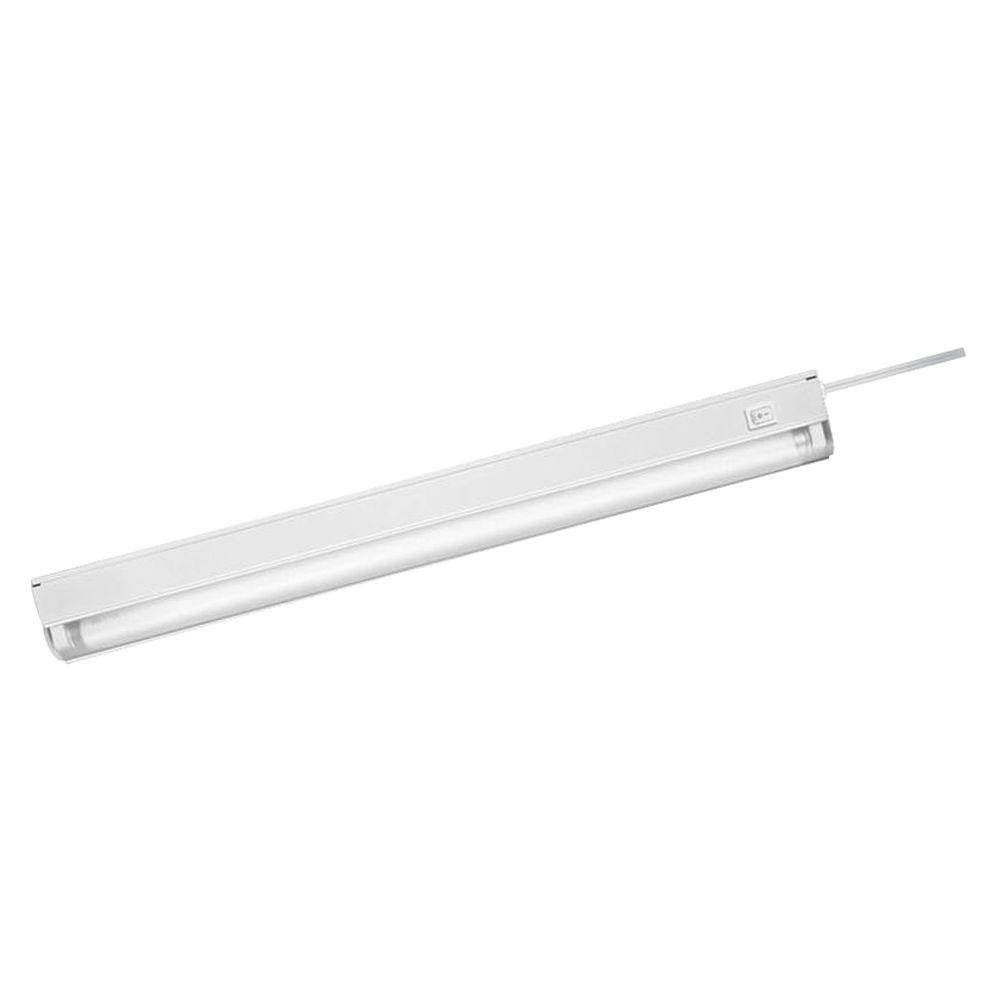 Westek Fluorescent White Slim Convertible Cabinet Light-FA423HBWCC ...