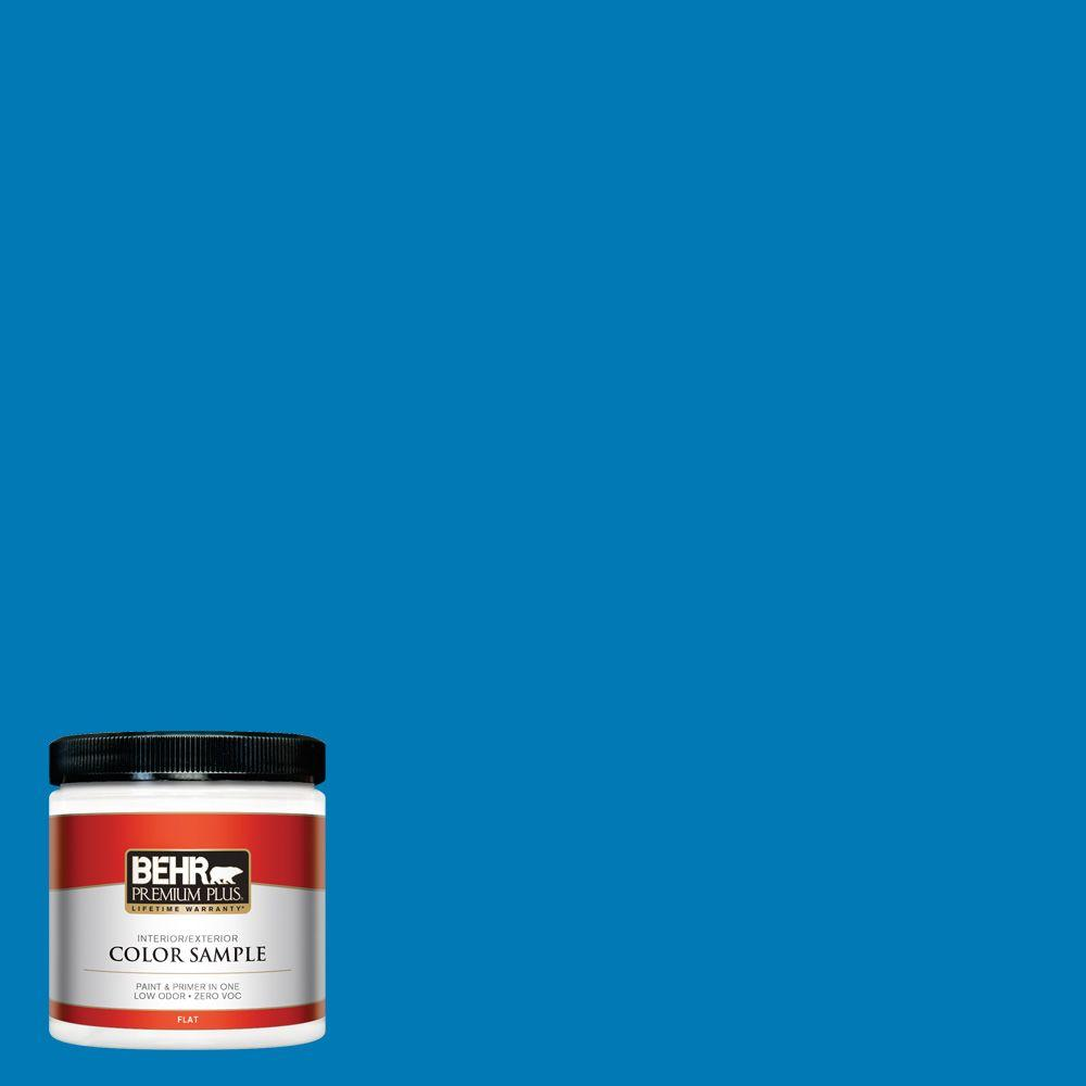 P500 6 Deep River Flat Interior Exterior Paint And Primer In One Sample