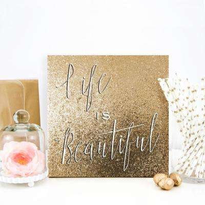 Square Canvas - Floater Frame - Words & Quotes - Canvas Art - Wall ...
