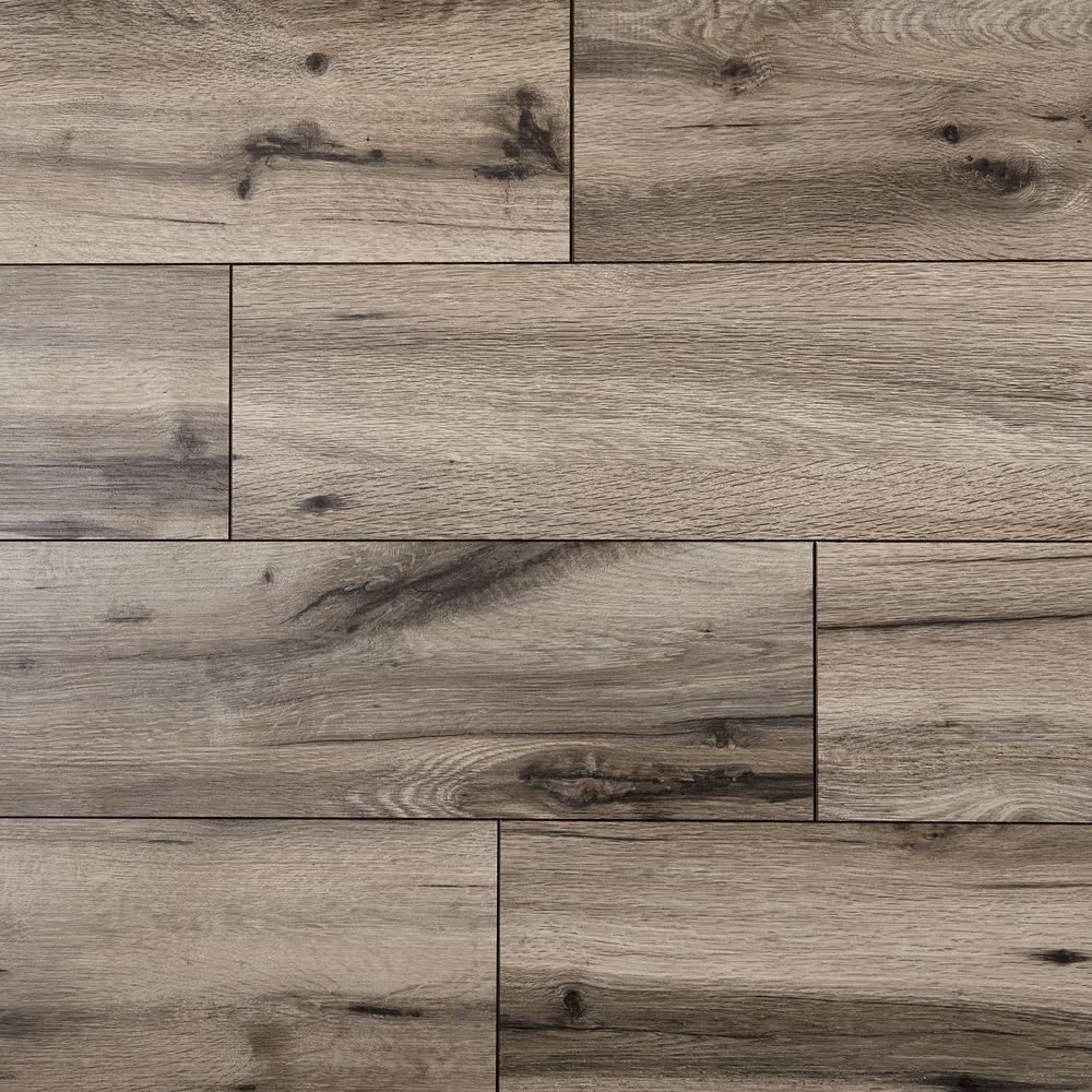 Home Decorators Collection Claddon Oak 12 mm Thick x 7-1/2 in. Wide x 50-2/3 in. Length Laminate Flooring (18.42 sq. ft. / case)