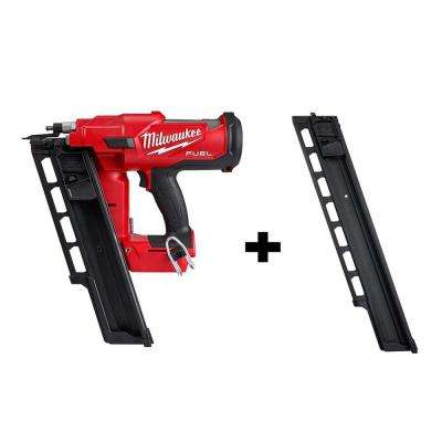 M18 FUEL 3-1/2 in. 18-Volt 21-Degree Lithium-Ion Brushless Cordless Framing Nailer Tool-Only with Extended Capacity Mag