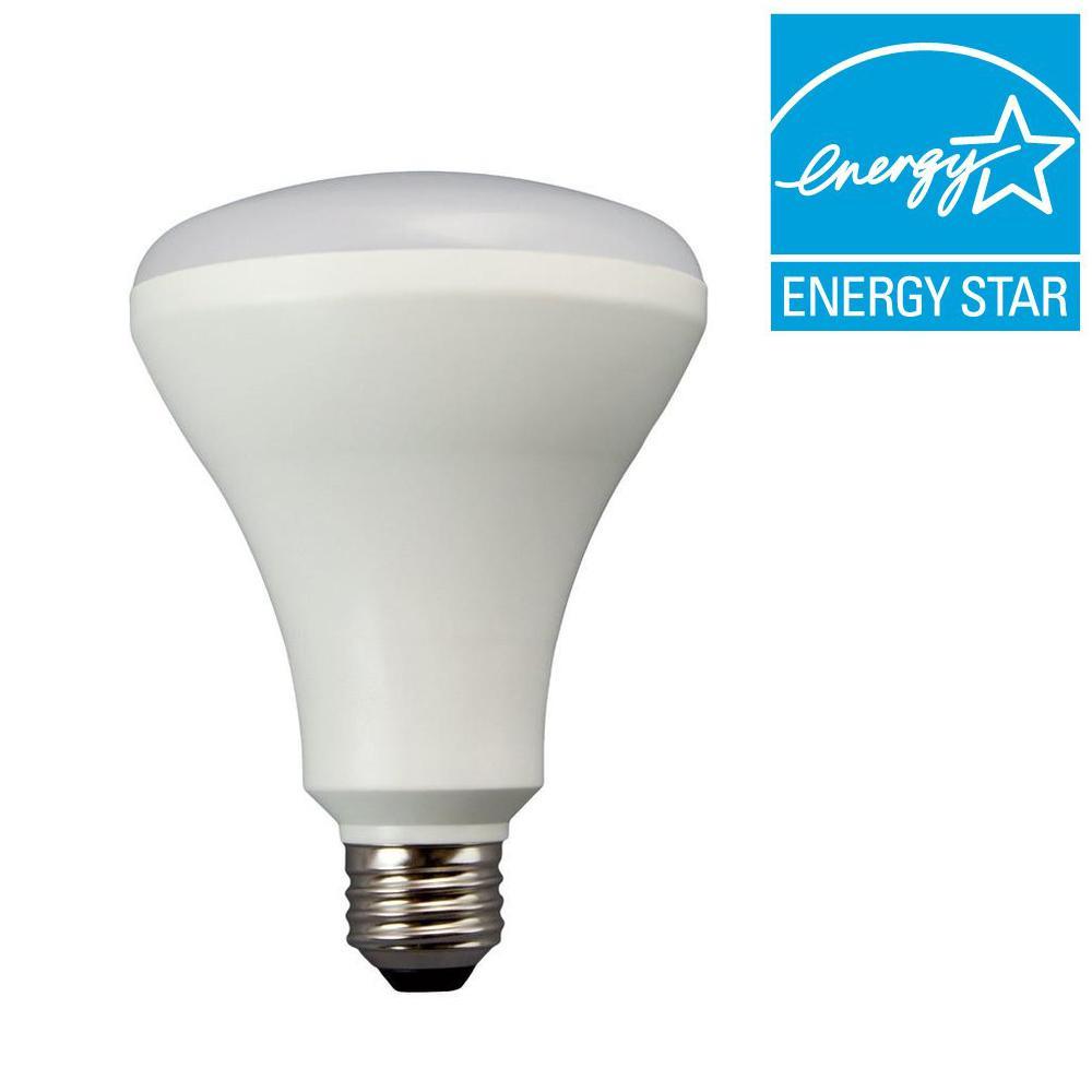 TCP 65W Equivalent Soft White (2700K) 93 CRI BR30 Dimmable LED Flood Light Bulb