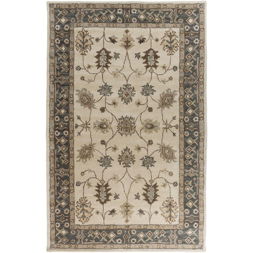 Artistic Weavers Middleton Willow Gray 8 Ft X 10 Indoor Area Rug Awhr2050 7696 The Home Depot