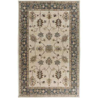 Middleton Willow Gray 3 ft. x 5 ft. Indoor Area Rug