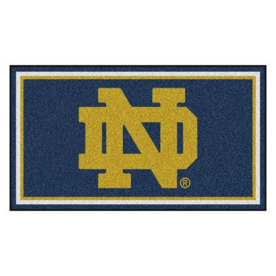 NCAA Notre Dame 3 ft. x 5 ft. Ultra Plush Area Rug