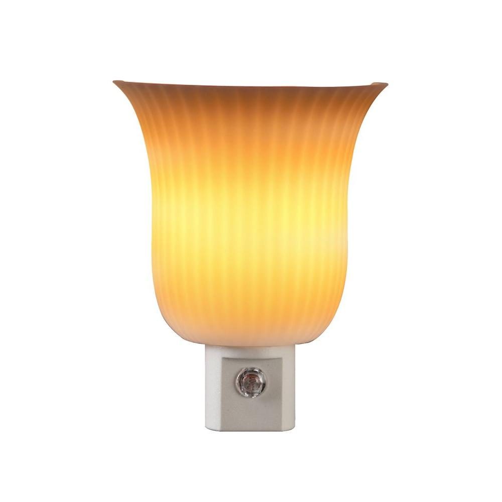 Pleated Sconce Automatic Night Light