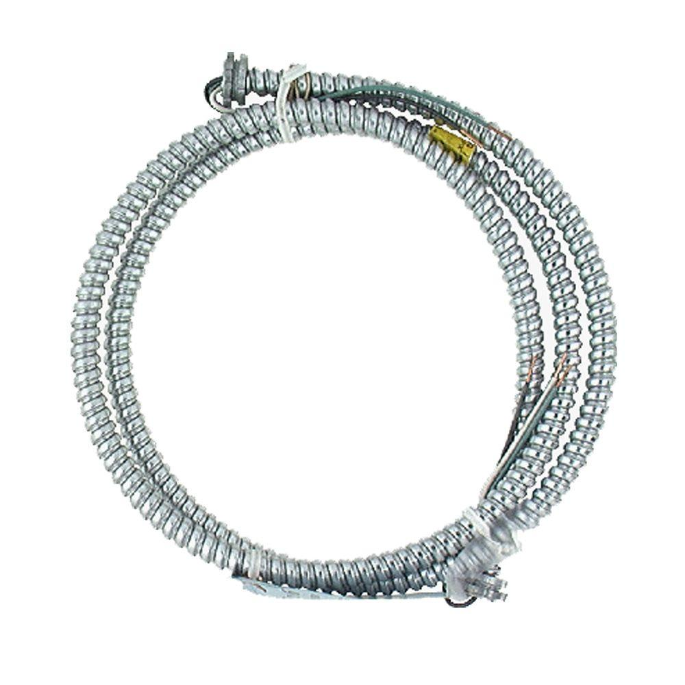 AFC Cable Systems 14/3 x 6 ft. Lighting Whip