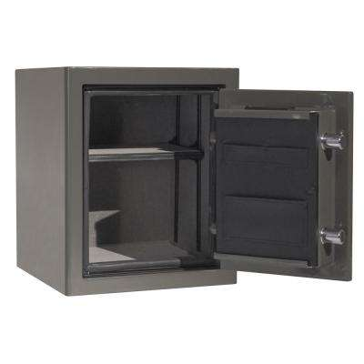 Sanctuary Platinum Series 25.25 in. Tall Fire/Water Proof Safe with Electronic Lock in Graphite Gloss