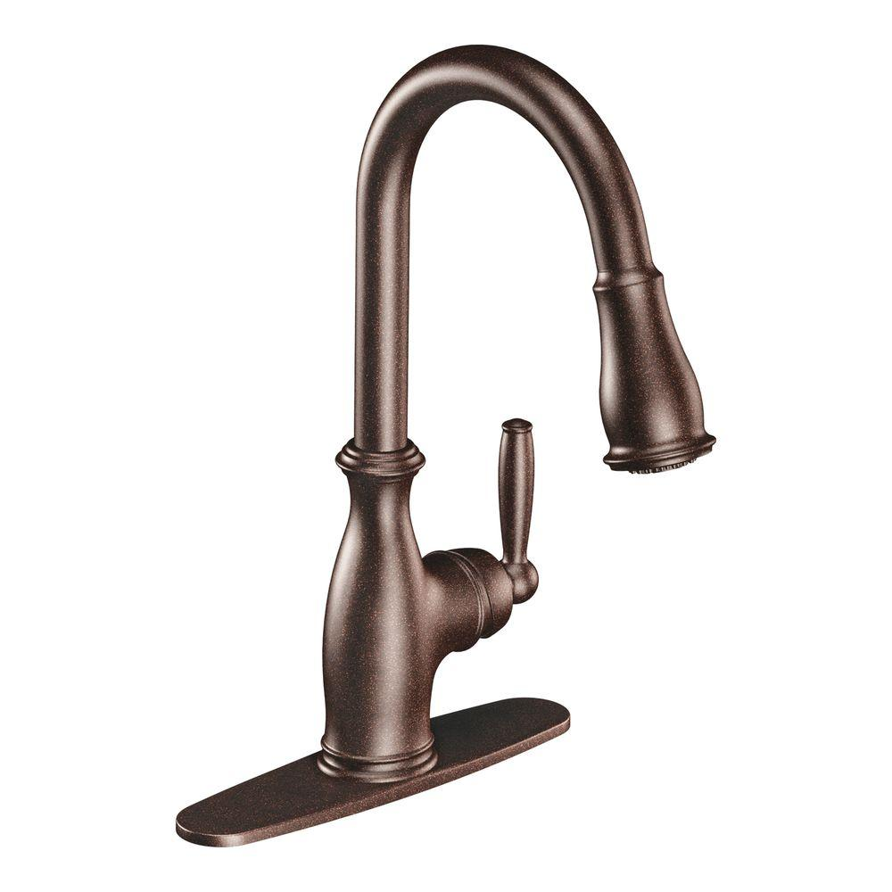 MOEN Brantford Single-Handle Pull-Down Sprayer Kitchen