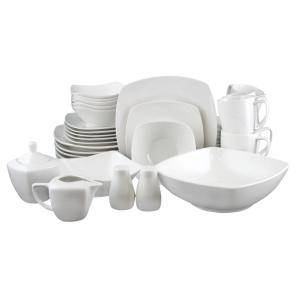 gibson zen 39 piece white dinnerware set 98599967m the home depot. Black Bedroom Furniture Sets. Home Design Ideas