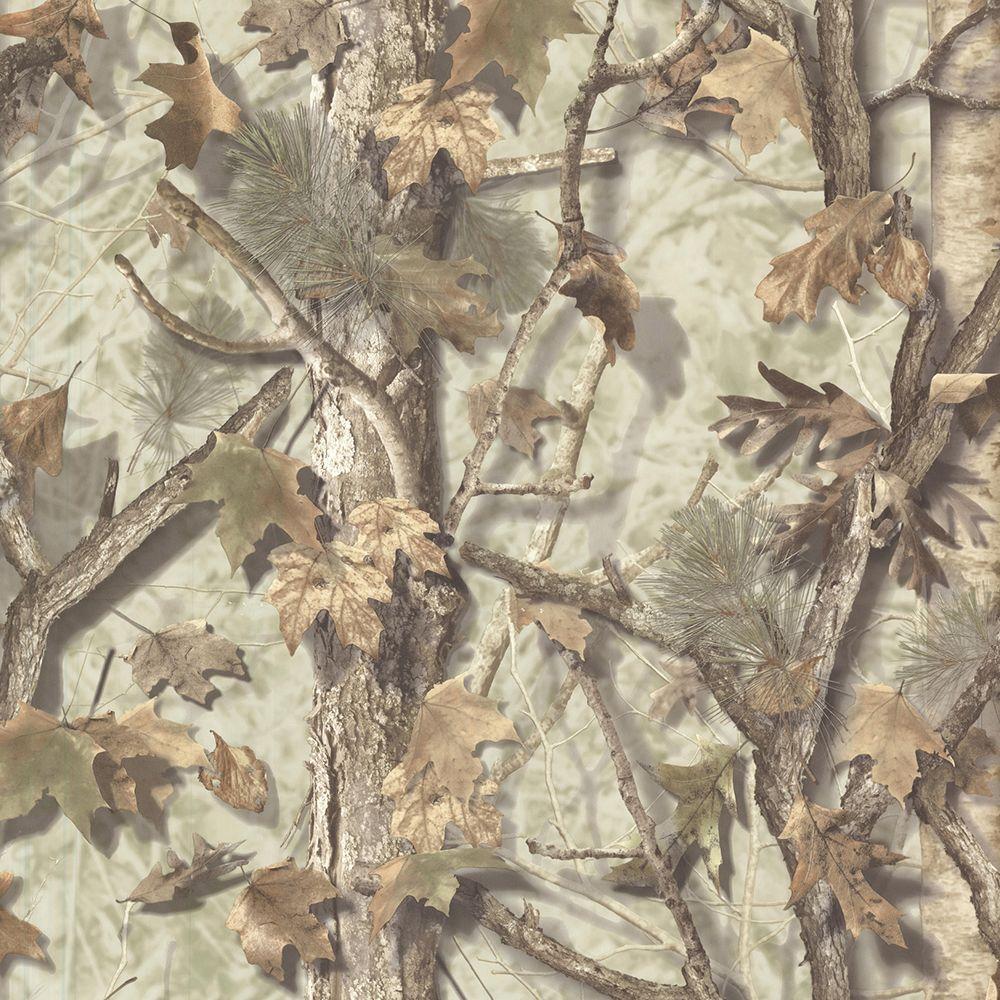 Chesapeake Sawgrass Fog Camo Forest Wallpaper Sample