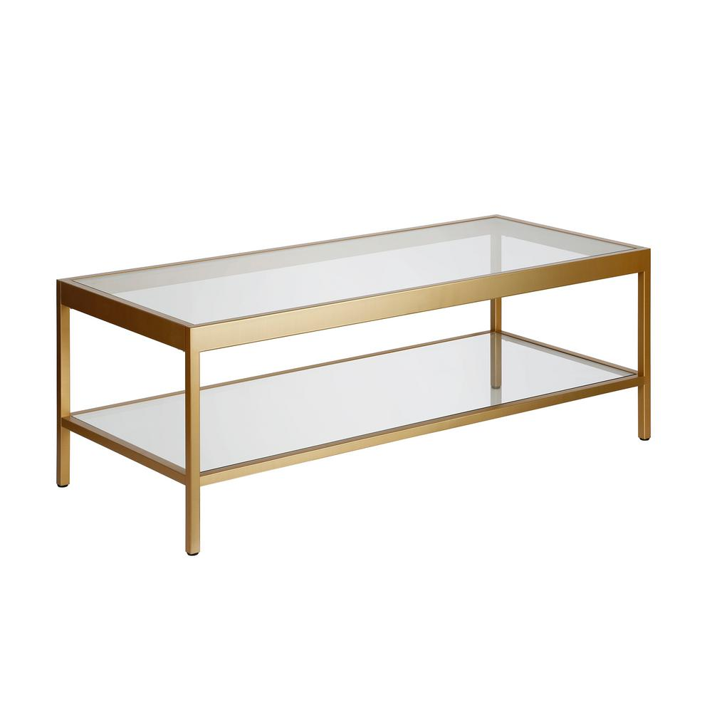 - Meyer&Cross Alexis Brass Coffee Table-CT0380 - The Home Depot