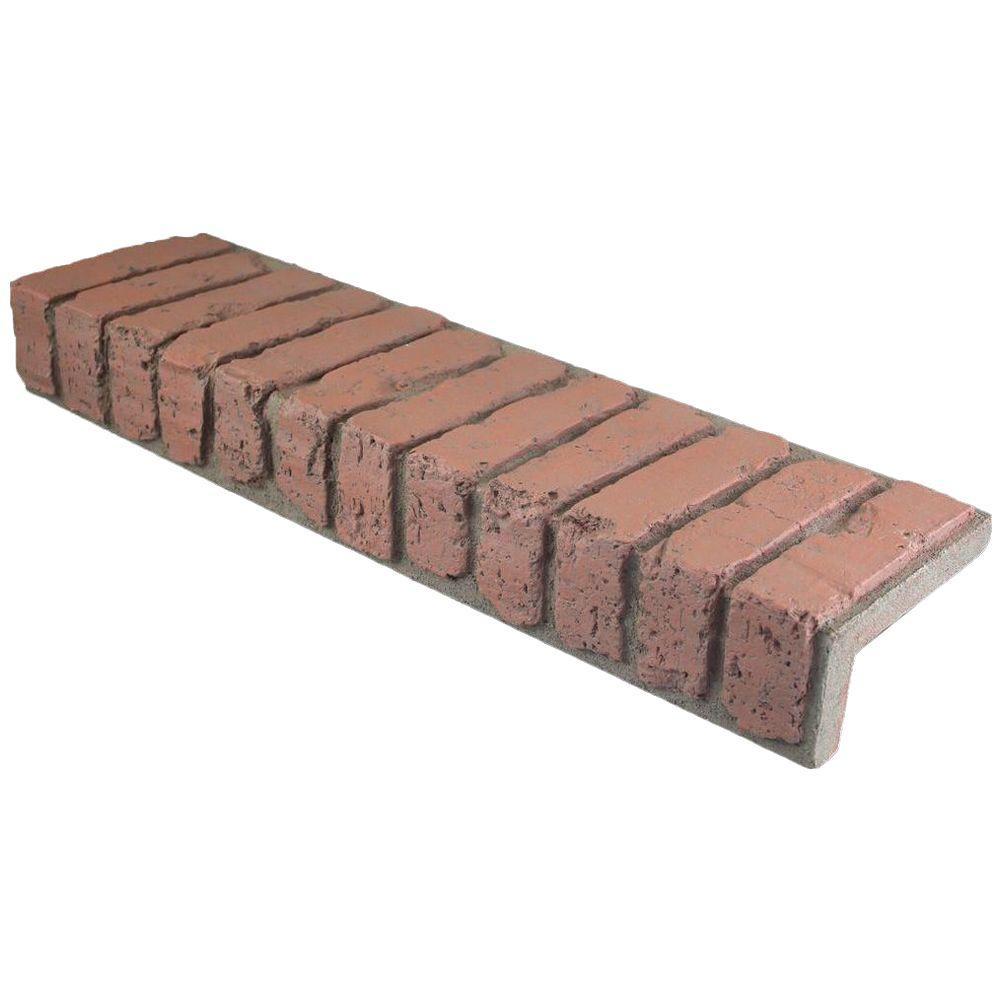 Redstone 31-1/2 in. x 8-3/4 in. x 4-3/8 in. Faux Brick Window/Door Trim