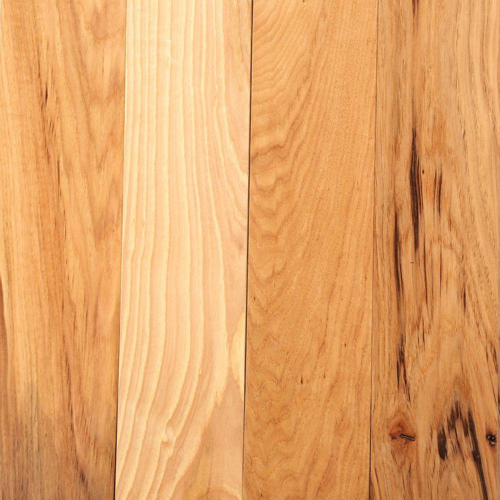 Bruce Hickory Rustic Natural 3 4 In Thick X 1