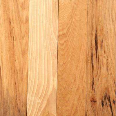 Hickory Rustic Natural 3/4 in. Thick x 3-1/4 in. Wide x Random Length Solid Hardwood Flooring (22 sq. ft. / case)