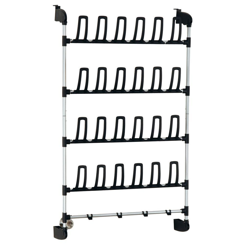 Neu Home 12 Pair Overdoor Storage Shoe Organizer