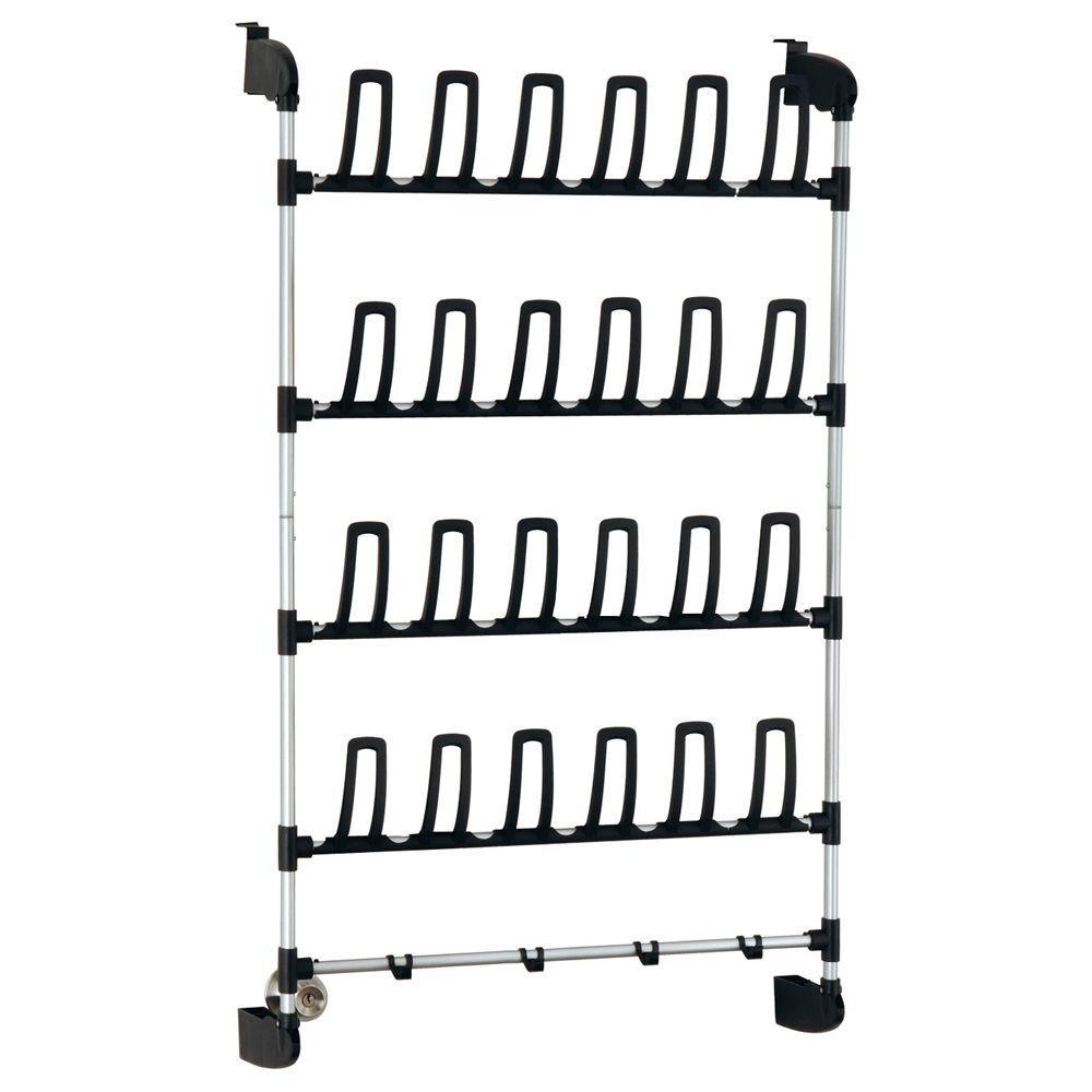 12-Pair Overdoor Storage Shoe Organizer