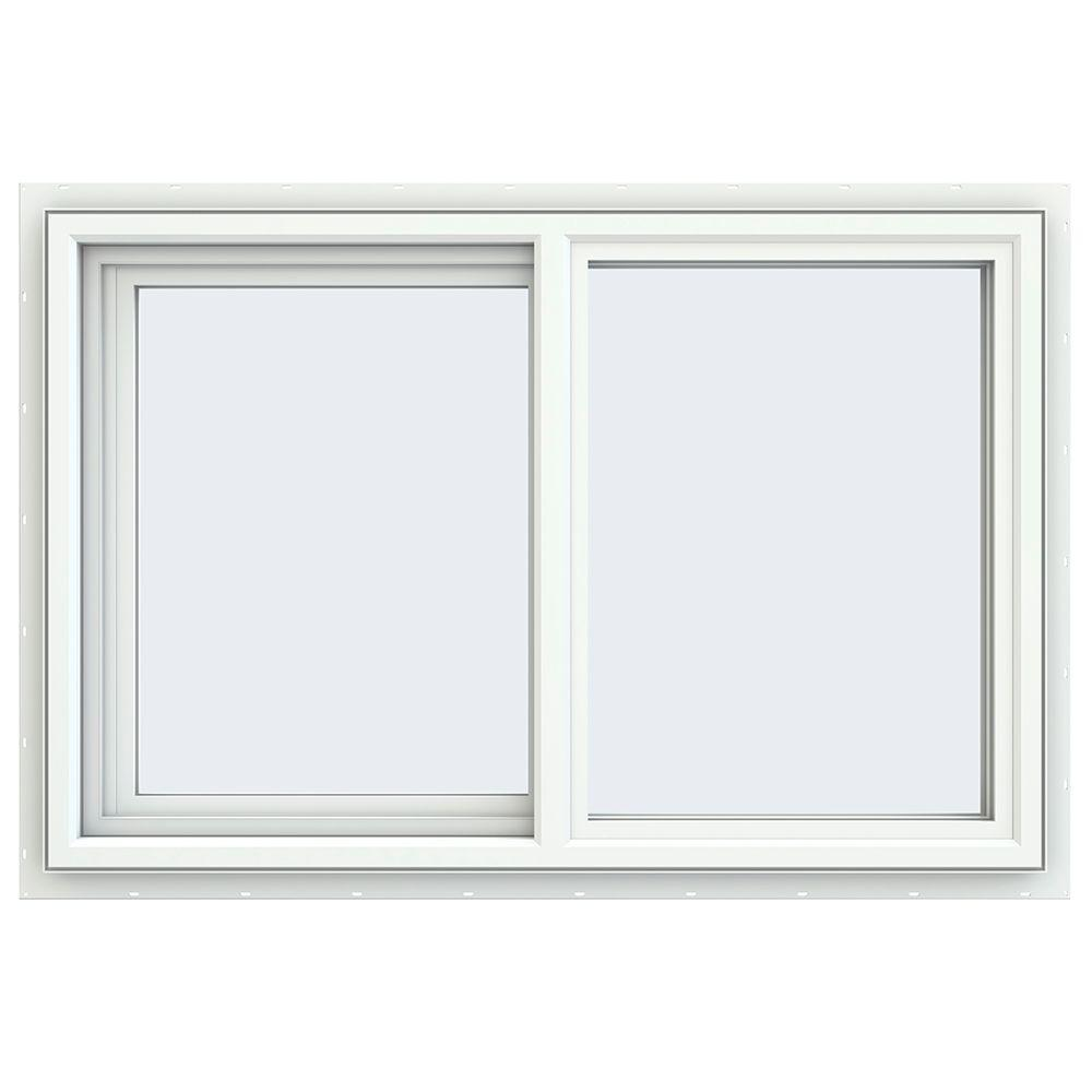 35.5 in. x 23.5 in. V-4500 Series Left-Hand Sliding Vinyl Window