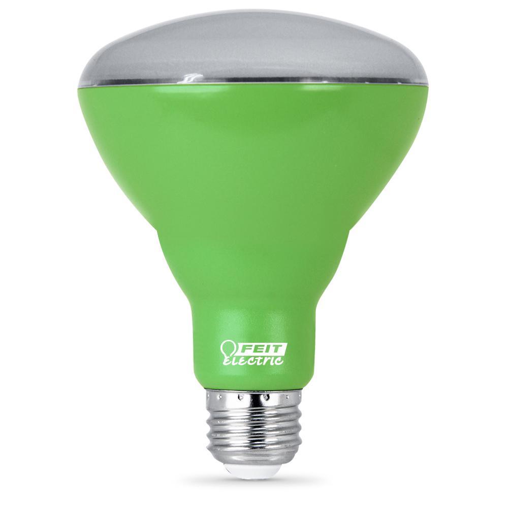9-Watt Equivalent BR30 Medium E26 Base Non-Dim Indoor and Greenhouse Full Spectrum Plant Grow LED Light Bulb (1-Bulb)