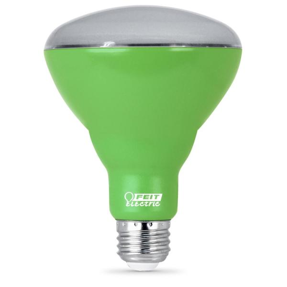 9-Watt Equivalent BR30 Medium E26 Base Non-Dim Indoor and Greenhouse Full Spectrum Plant LED Grow Light Bulb (1-Bulb)