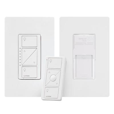 Caseta Wireless Smart Lighting Dimmer Switch and Pico Remote 3-Way Mounting Kit