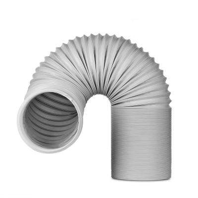 5.9 in. x 6.5 ft. Non-Insulated Flexible Exhaust Hose for Portable Air Conditioner, Counter-clockwise
