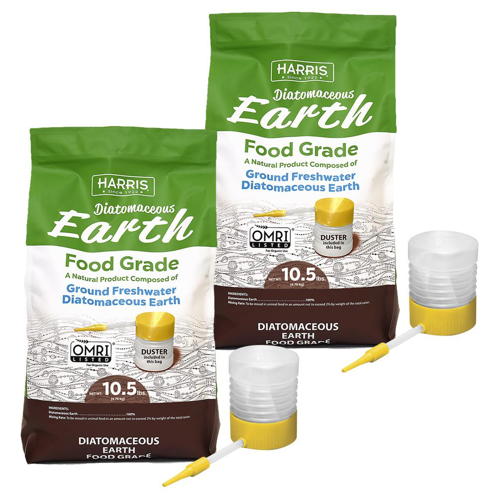 10.5 lbs. Diatomaceous Earth Food Grade 100% with 21 lbs. Powder