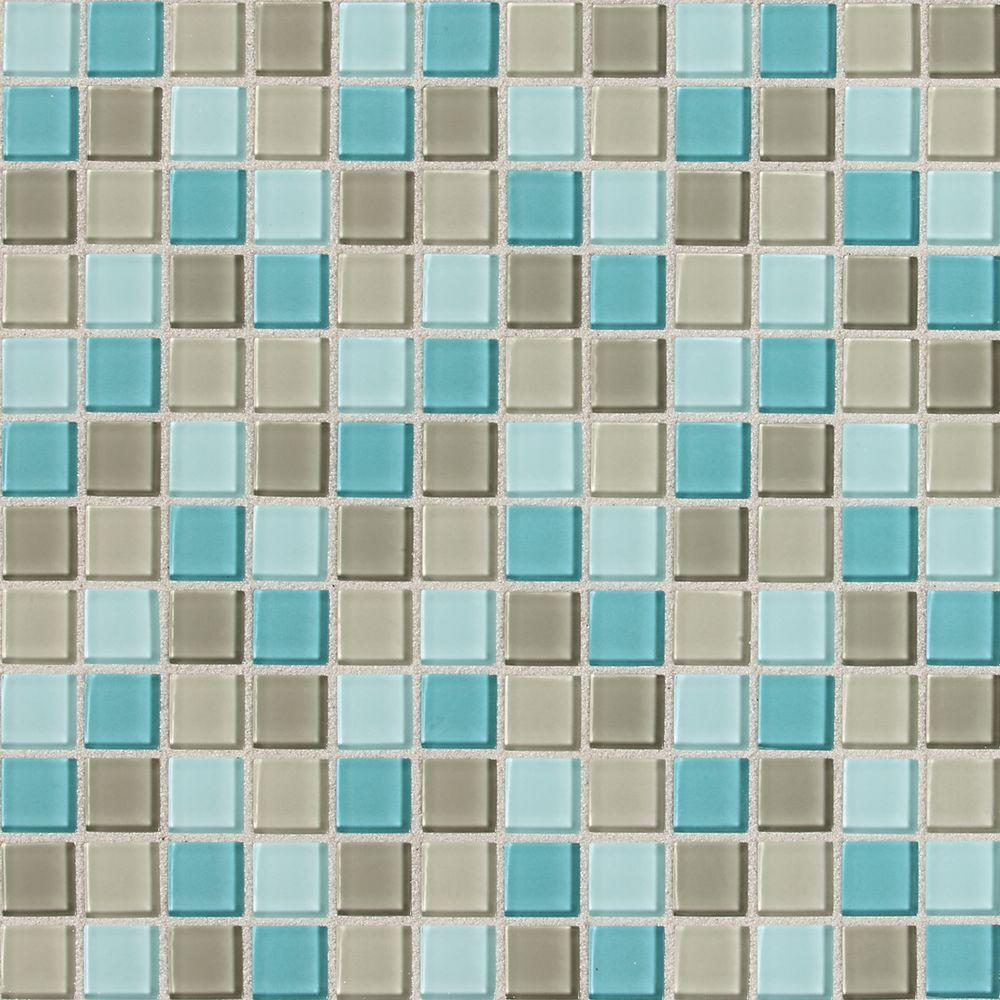 Splashback Tile Matchstix Mockingbird 3 in. x 6 in. x 3 mm Glass ...