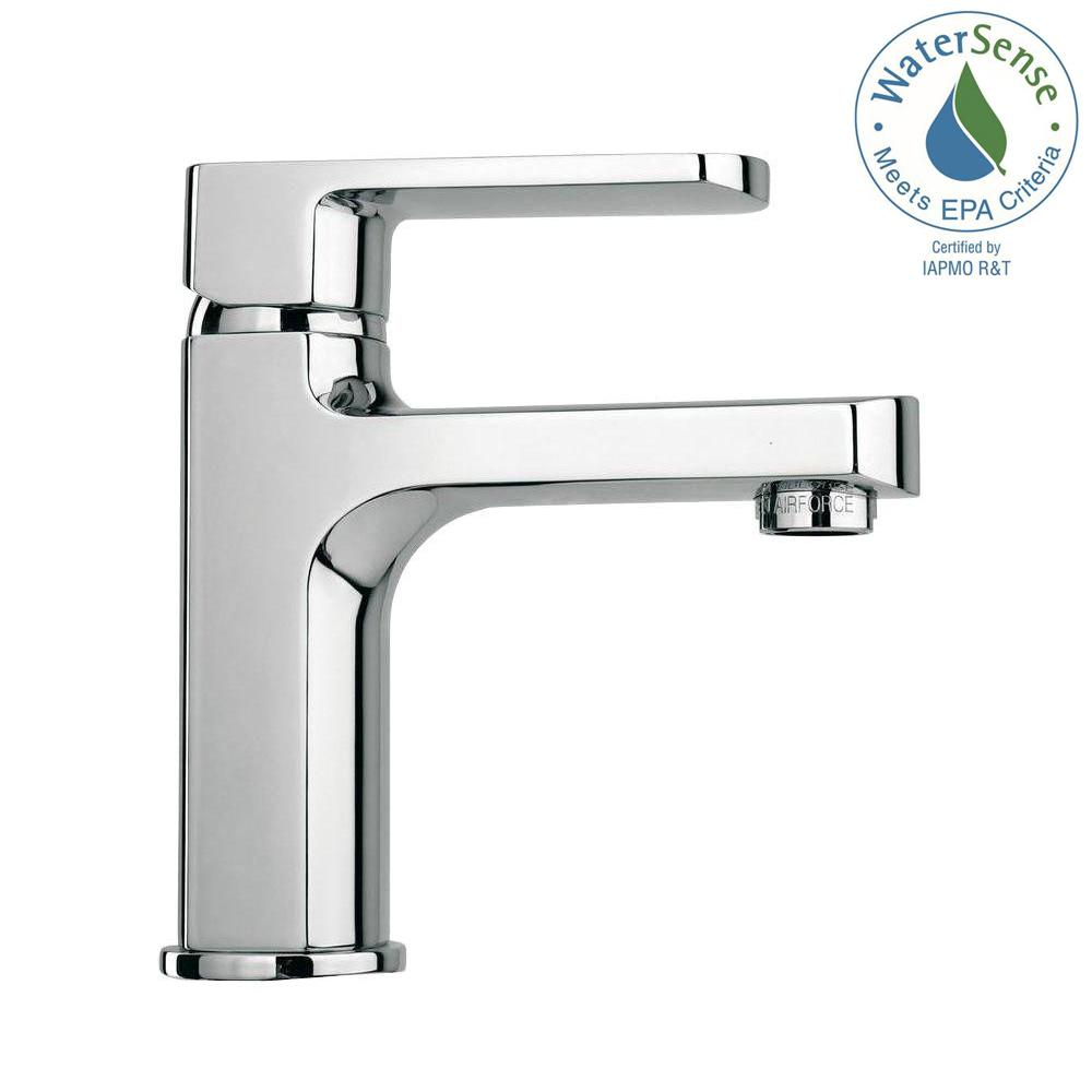 Fresca Bevera Single Hole 1-Handle Low-Arc Bathroom Faucet in Chrome ...