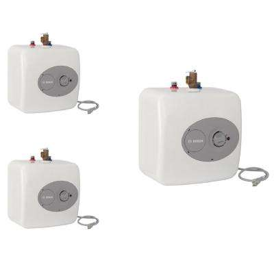 4 Gal. Mini-Tank Electric Water Heater (3-Pack)