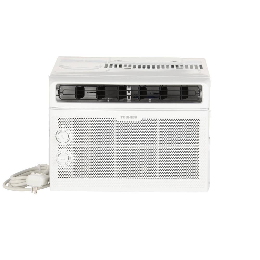 toshiba 5 000 btu 115 volt window air conditioner rac wk0511cmu the home depot. Black Bedroom Furniture Sets. Home Design Ideas
