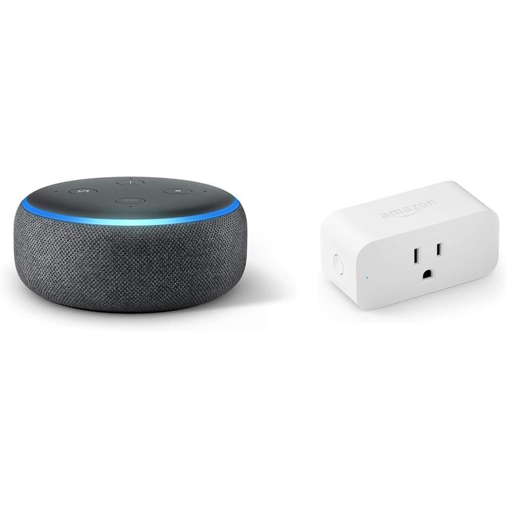 Echo Dot (3rd Gen) B Plus Smart Plug