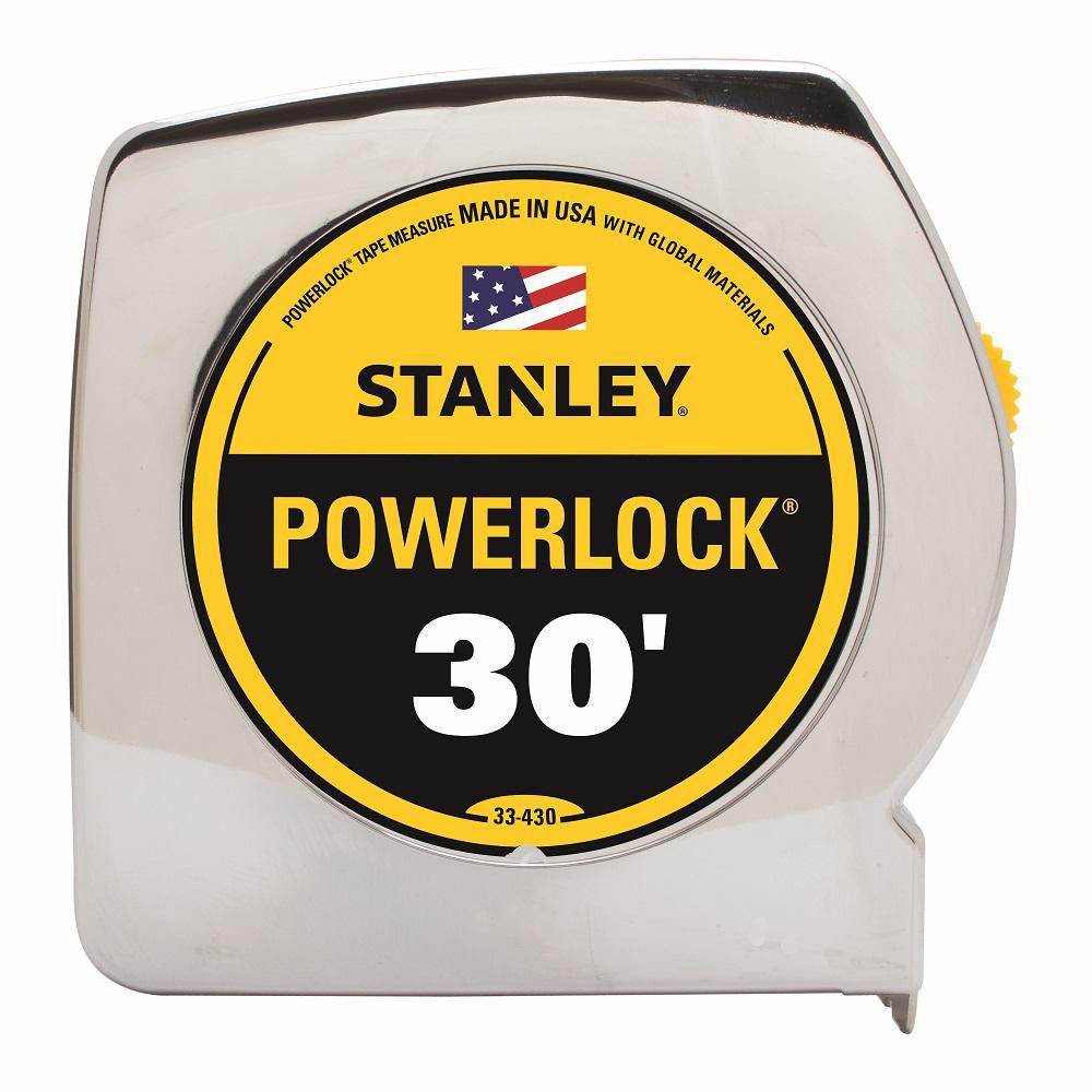 Stanley PowerLock 30 ft. x 1 in. Tape Measure