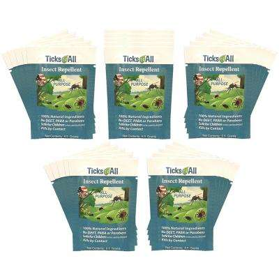 Ready-To-Use All Natural Flea and Tick Wipes 4 Cats (25-Count)