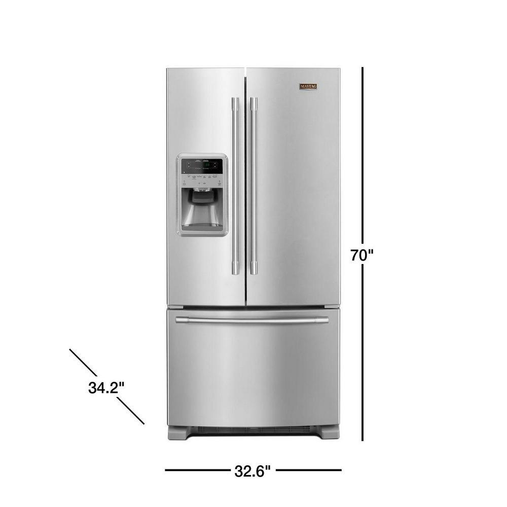 22 Cu Ft French Door Refrigerator