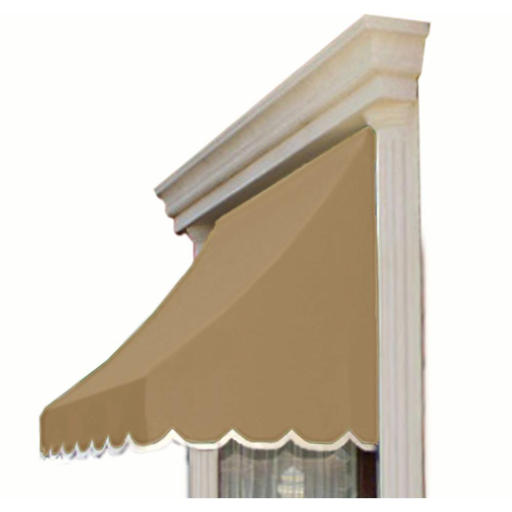 AWNTECH 6.38 ft. Wide Nantucket Window/Entry Awning (44 in ...