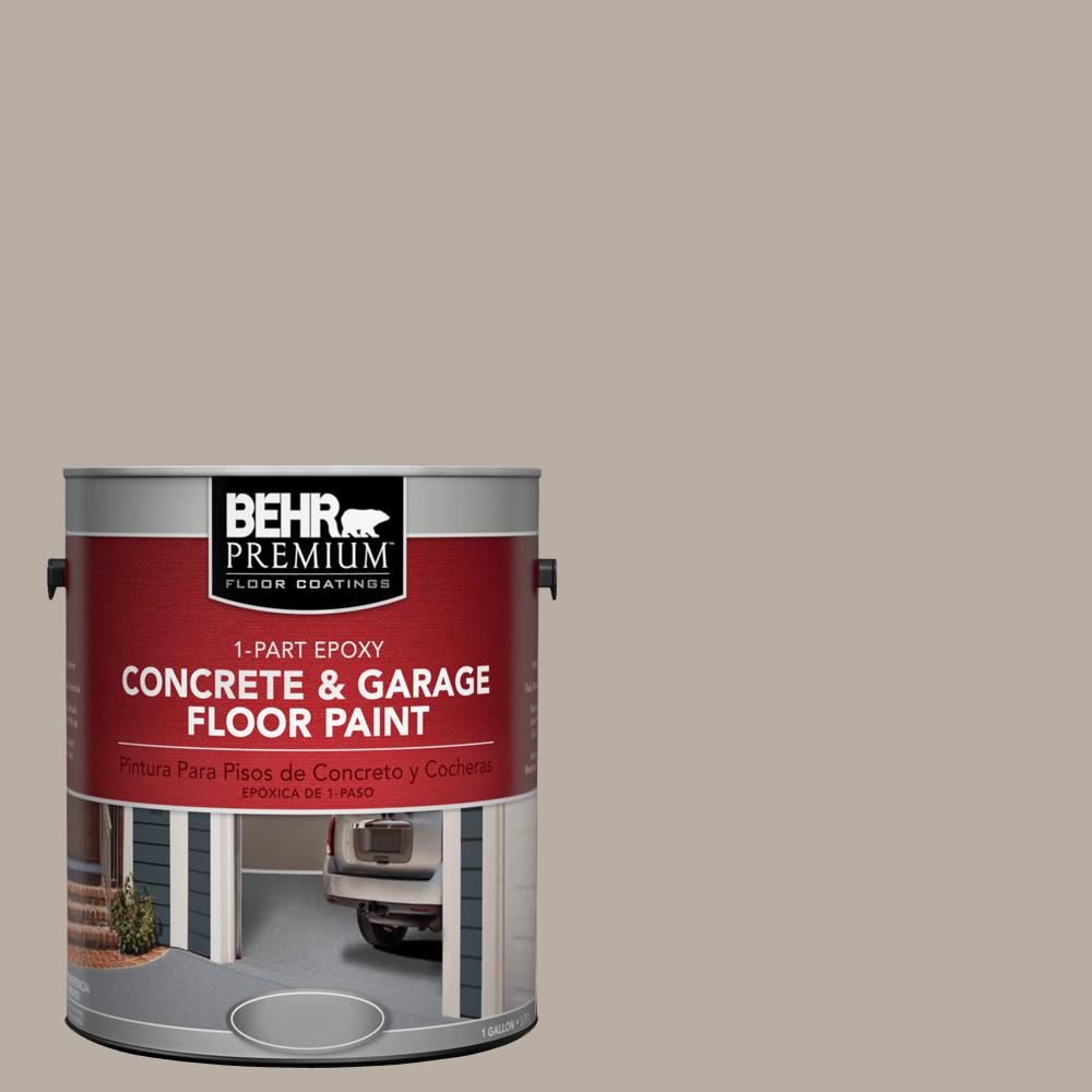 1 gal. #N200-3 Nightingale Gray 1-Part Epoxy Concrete and Garage Floor