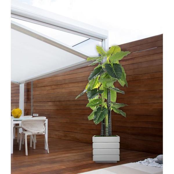 78 In Tall Indoor Outdoor Elephant Ear Plant Artificial Indoor