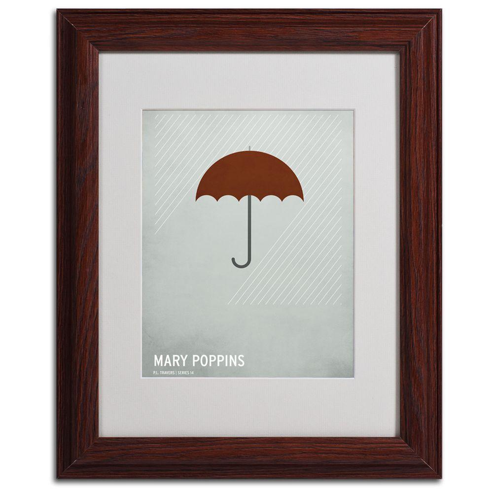 Trademark Fine Art 11 In X 14 In Marry Poppins Matted