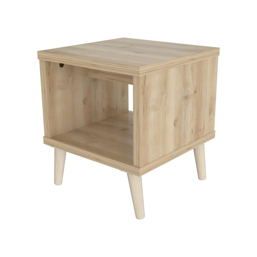 Inval Maple End Table