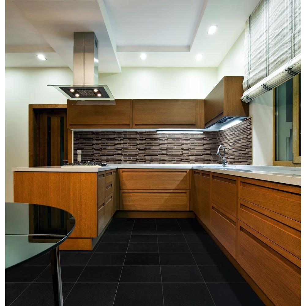 X 18 In Polished Granite Floor
