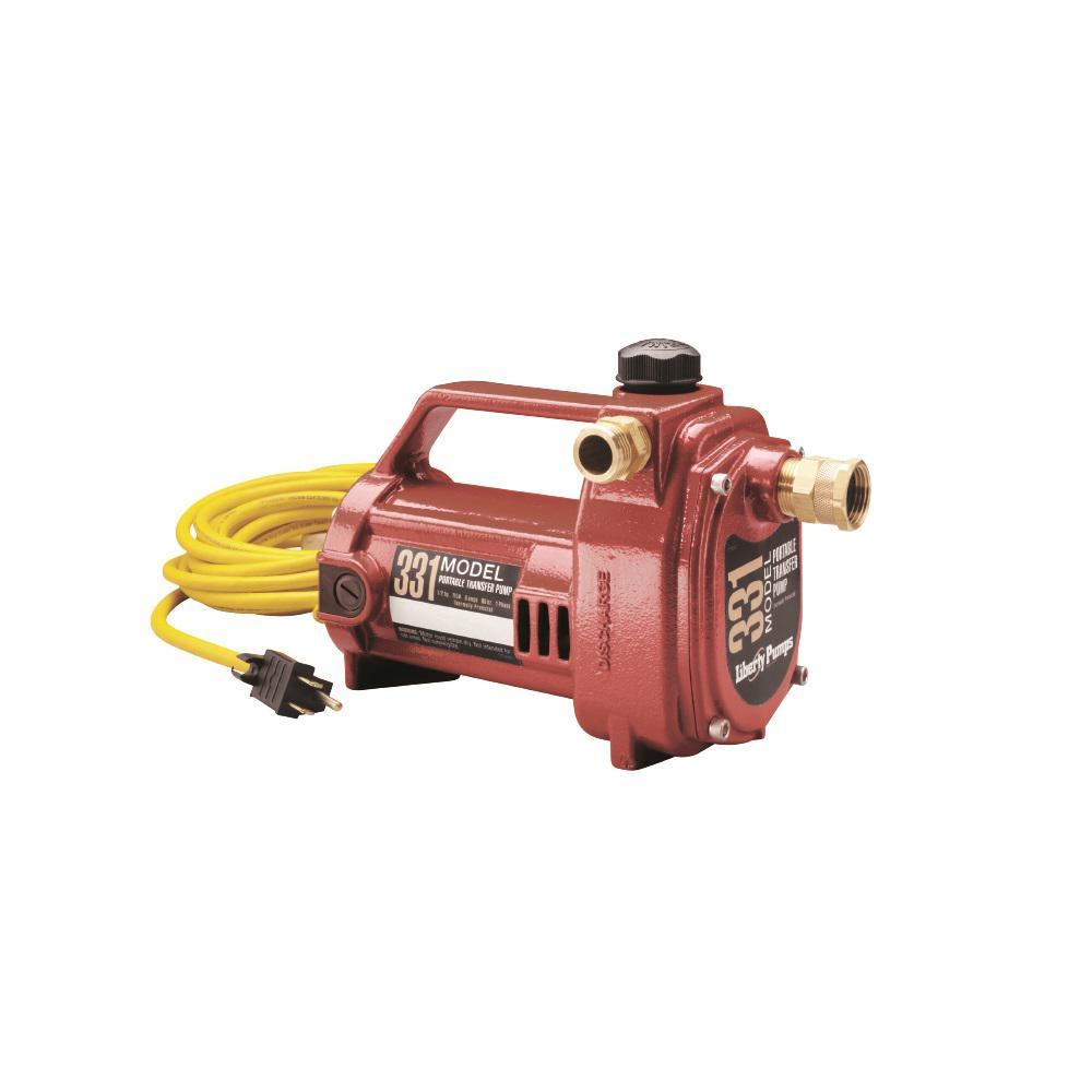 1/2 HP Non-Submersible Portable Transfer Pump