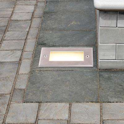 2-Watt Stainless Steel Outdoor Integrated LED 3000K In-Ground Landscape Path Light