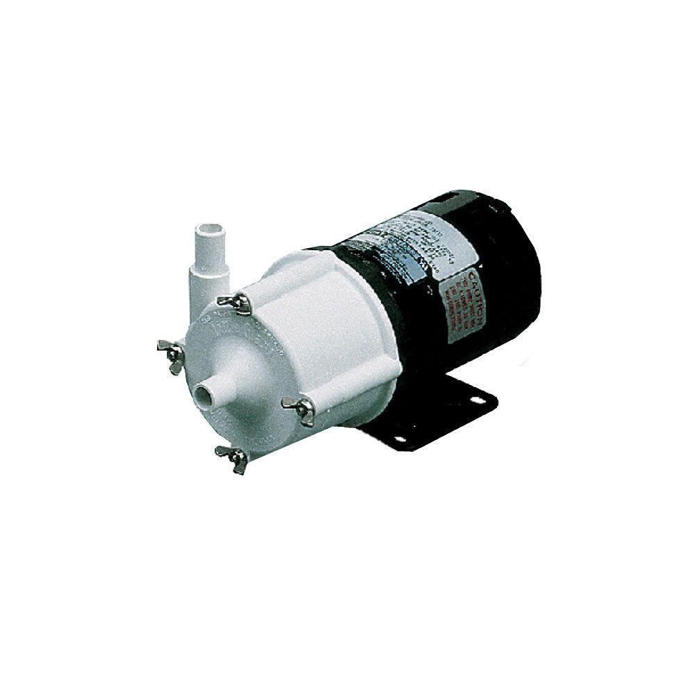 Little Giant 581031 348 Gph 1/25 Hp Magnetic Drive Pump
