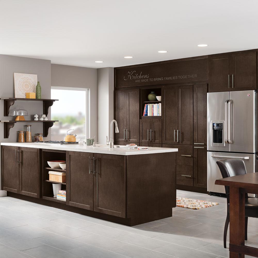 Thomasville Studio 1904 Custom Kitchen Cabinets Shown in ...